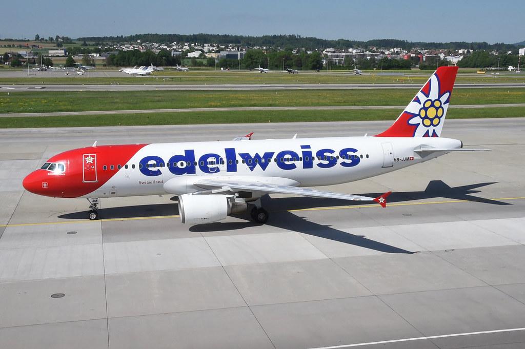 Edelweiss Air Airbus A320-214; HB-JJM@ZRH;07.05.2018