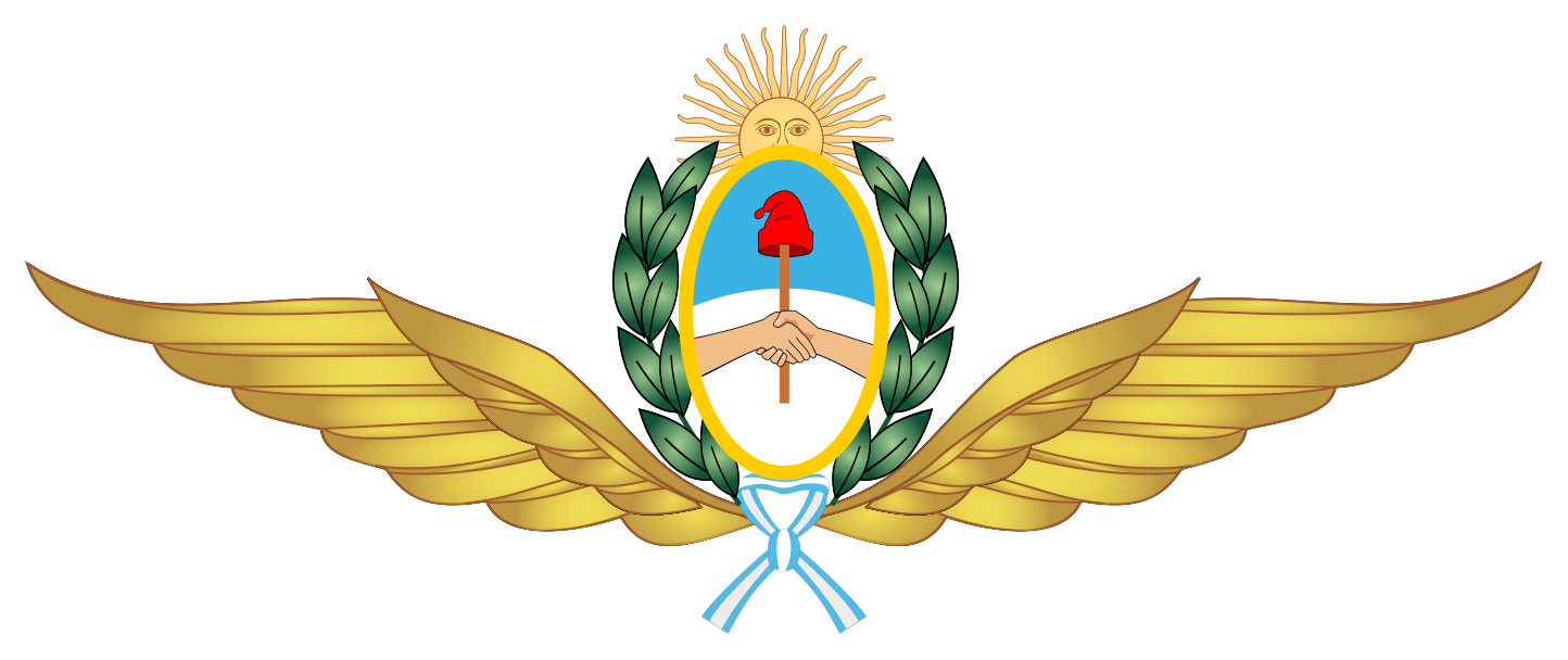 Argentine Air Force wings emblem