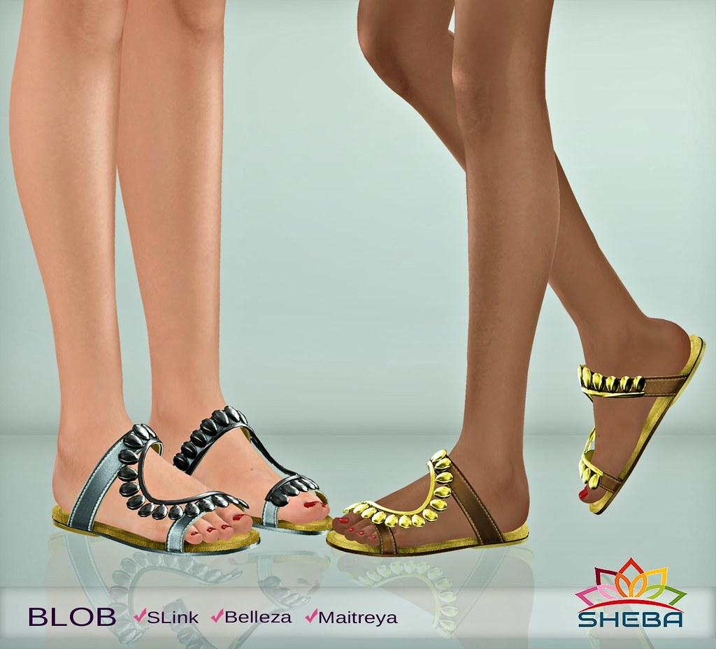 [Sheba] Blob Sandals - TeleportHub.com Live!