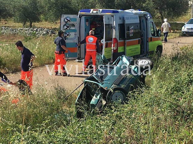 incidente statale 100