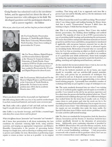 GBW newsletter, april 2018- page 12