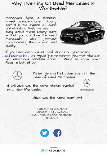 Why Investing On Used Mercedes Is Worthwhile