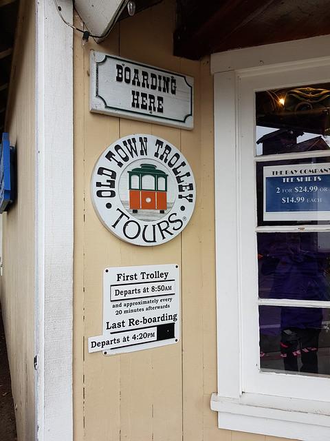 Trolley tour, San Diego