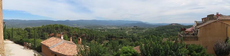 Roussillon: un panorama vers le Mont VentouxIMG_9423 Panorama