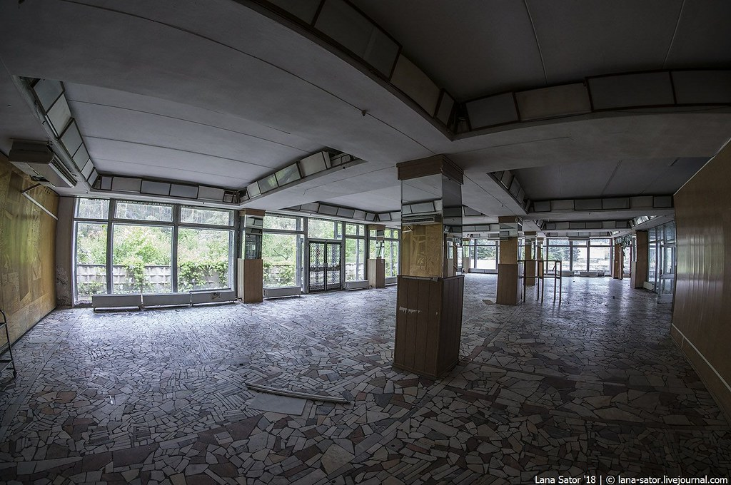 Abandoned russian sanatorium