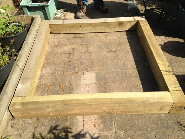 New raised bed