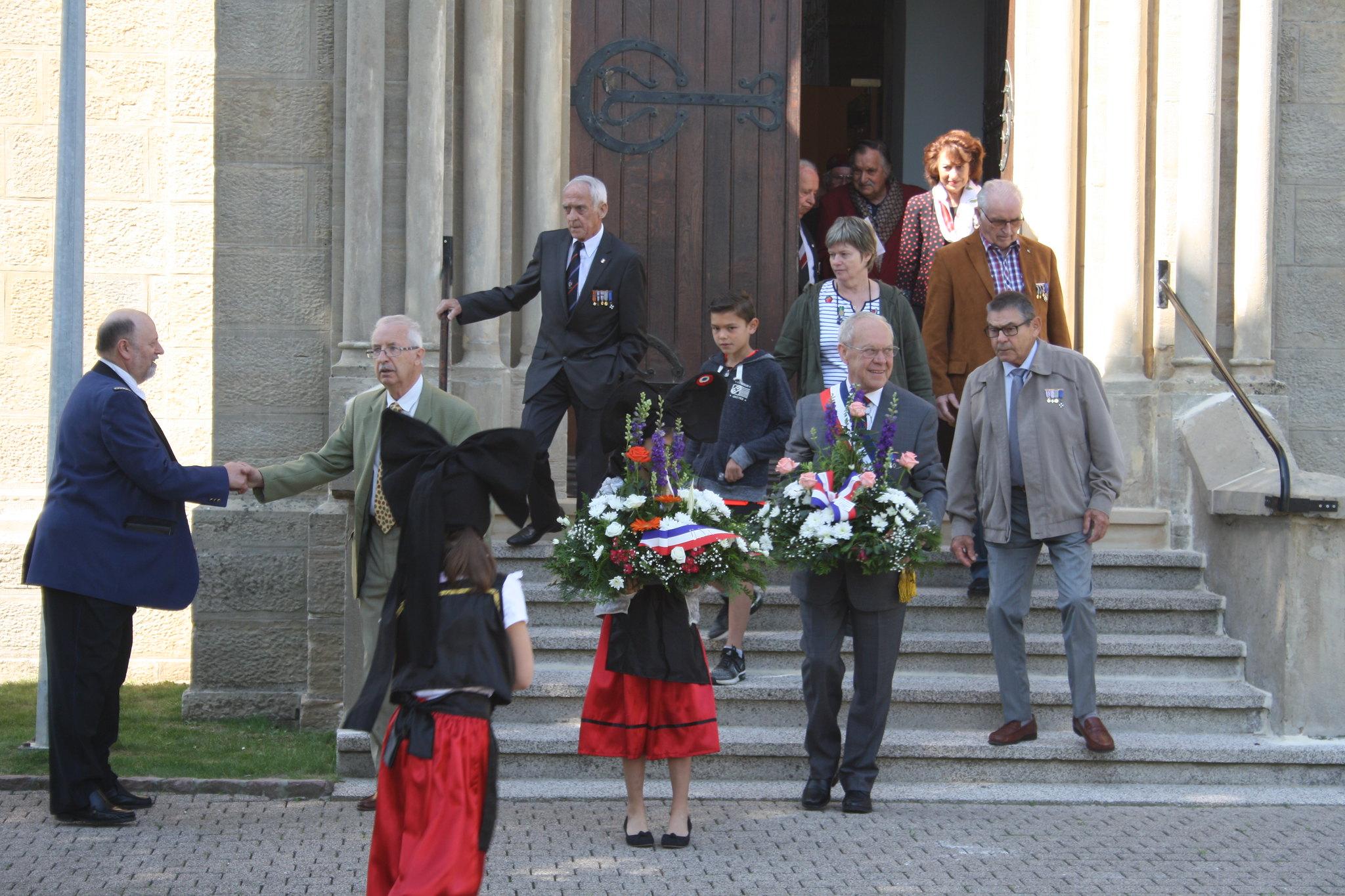 Cérémonie Commémorative du 8 Mai