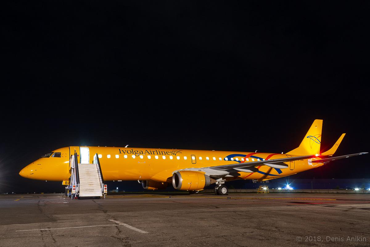 Embraer Саратовские Авиалинии Ivolga Airlines фото 5