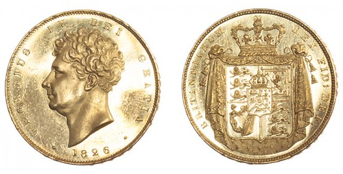 1826 George IV Proof Two Pounds