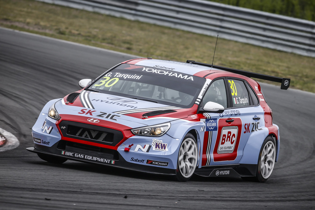 30 TARQUINI Gabriele, (ita), Hyundai i30 N TCR team BRC Racing, action during the 2018 FIA WTCR World Touring Car cup of Zandvoort, Netherlands from May 19 to 21 - Photo Francois Flamand / DPPI