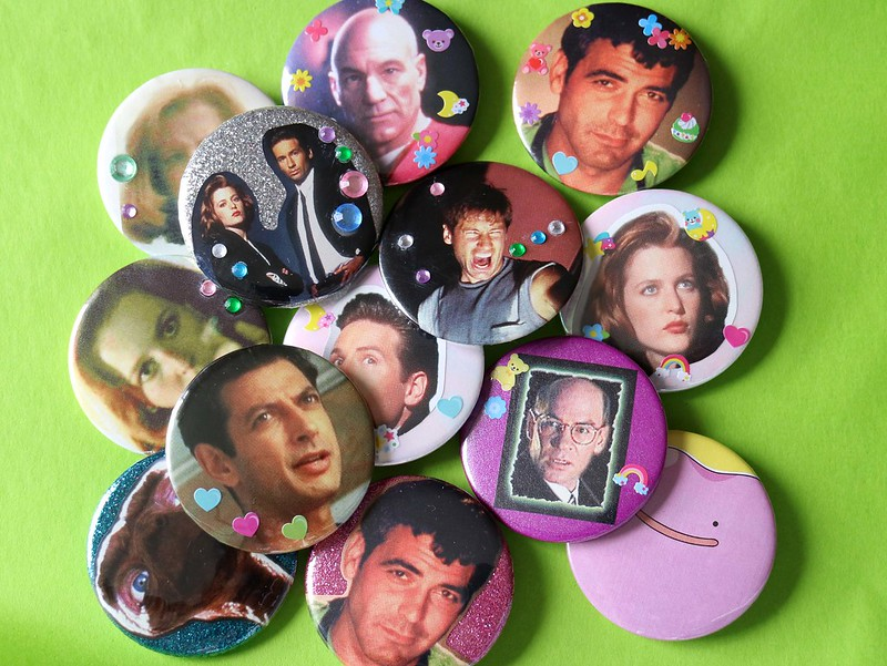 One Off Collage Badges