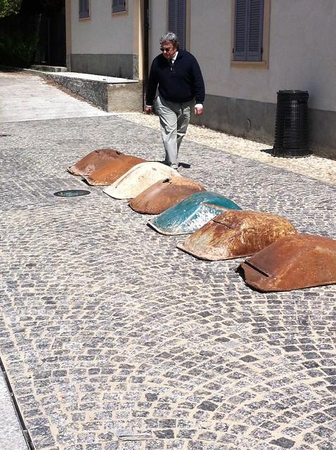 2014 Work Works installazione Sacrifice di Andrea Cereda - Villa Brivio