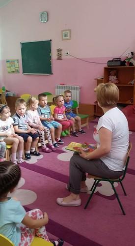 """Зустріч бібліотекарів з вихованцями ШДС """"Поділля"""" 02.05.18 В. Некрасова"""