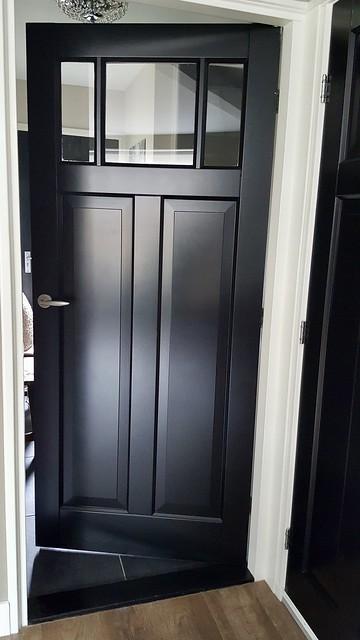 Zwarte binnendeur