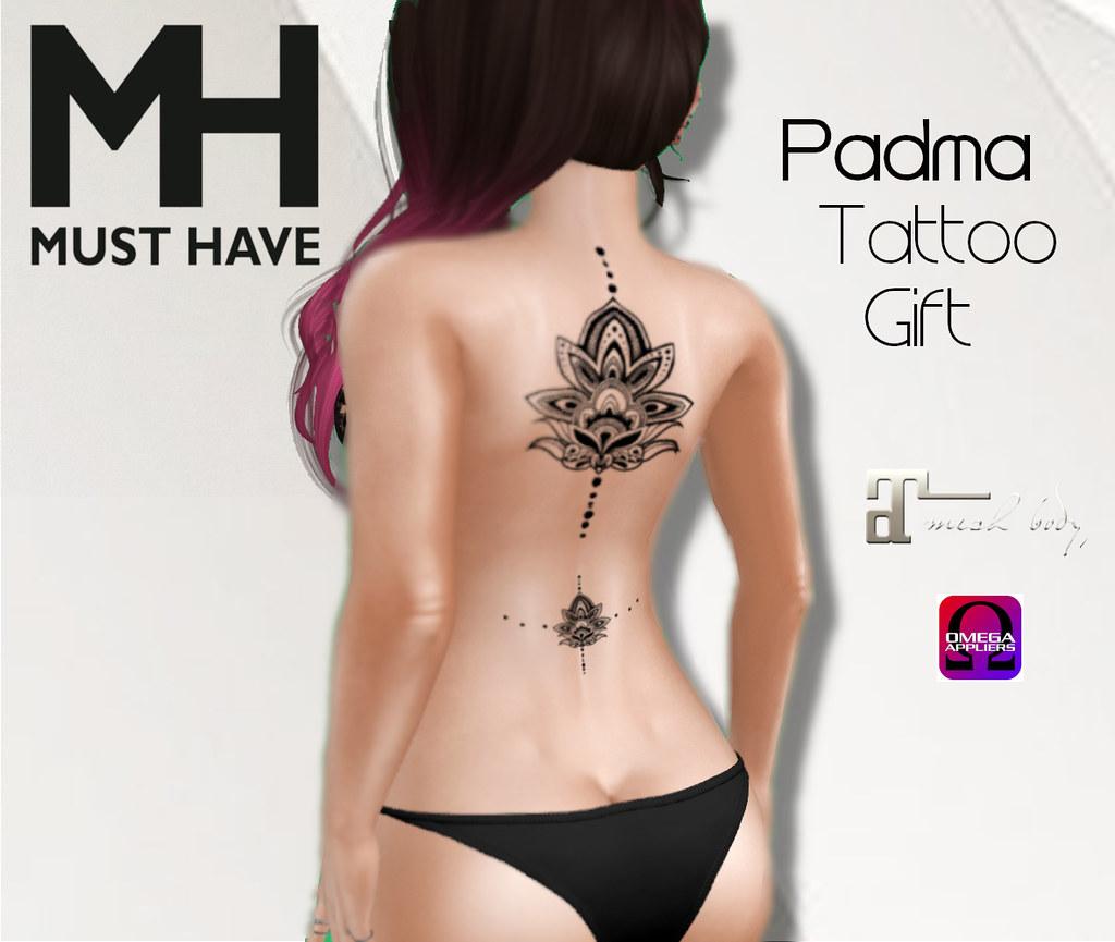 MUST HAVE - Padma Tatto Gift (Omega & Maitreya) - TeleportHub.com Live!