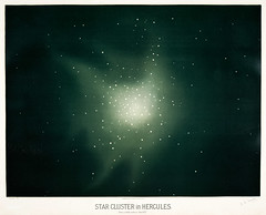 "Star clusters in Hurcules from the Trouvelot<br />astronomical drawings (1881-1882) by <a href=""https://www.rawpixel.com/search/etienne%20leopold%20trouvelot?&amp;page=1"">E. L. Trouvelot </a>(1827-1895)"