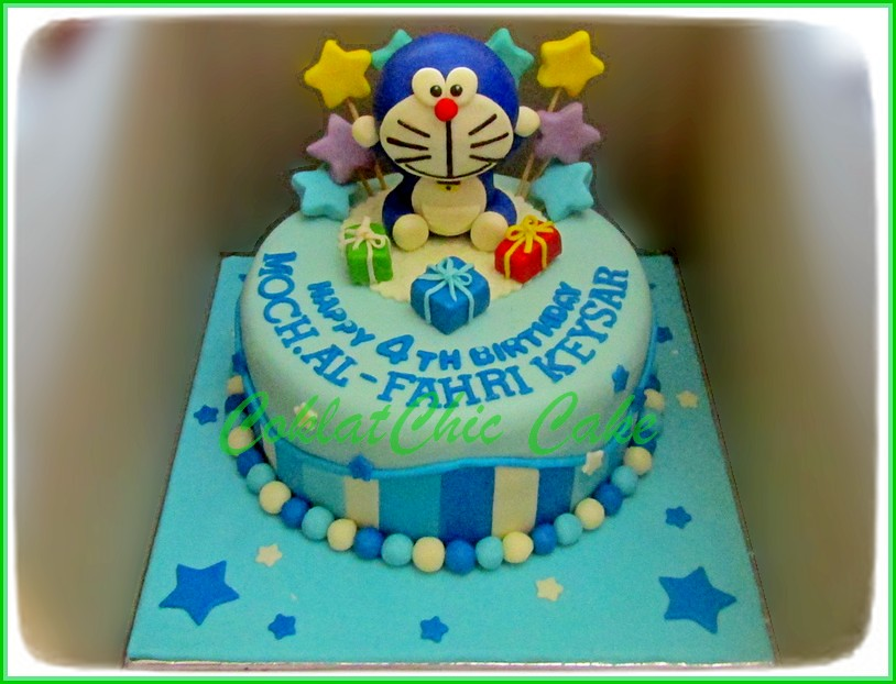 Cake Doraemon M.AL-FAHRI 18 cm