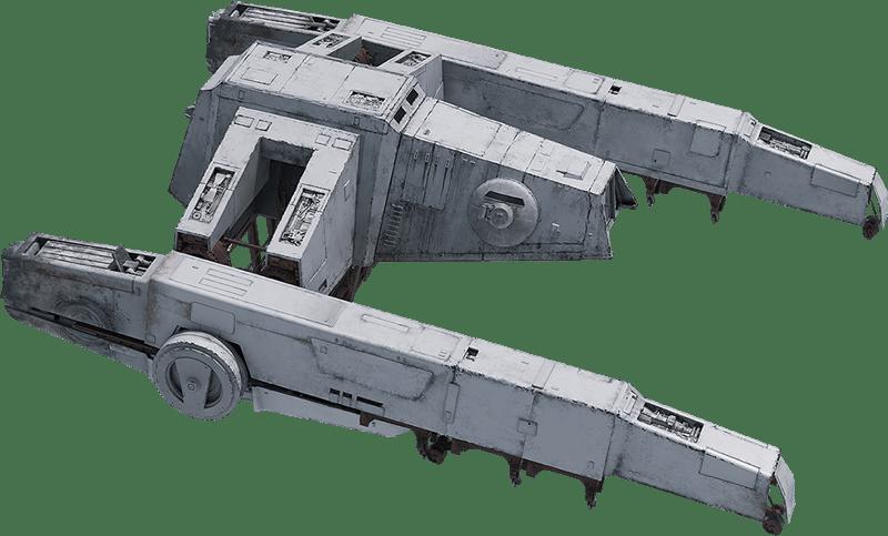 Imperial AT Hauler - Kuat Drive Yards Y-45 Armoured Transport Hauler
