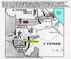 Lai Khe Vietnam Map.Vietnam War 1968 Khe Sanh Map Of North And South Vietn Flickr