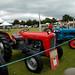 Antique Tractors in Aberfeldy Scotland