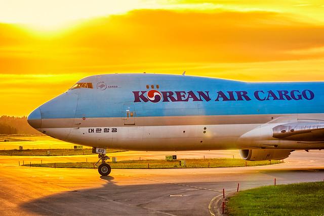 HL7610 Boeing 747-8HTF Korean Air Lines