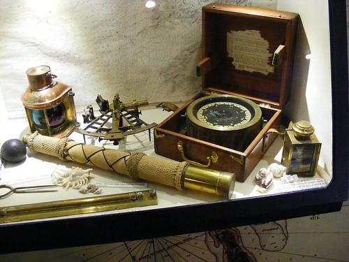 Old navigational instruments