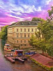 """Pretty on the River"" - Prague"