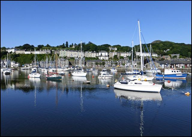 Porthmadog harbour. Wales, Panasonic DMC-TZ35