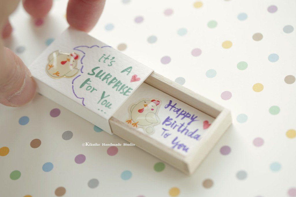 Happy BirthdayMatchbox CardValentines Giftcheer Up BoxFunny Love Card