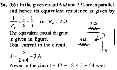 NEET AIPMT Physics Chapter Wise Solutions - Current Electricity explanation 36