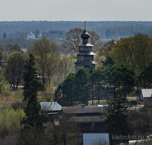 Старовознесенская (Тихвинская) церковь, деревянная