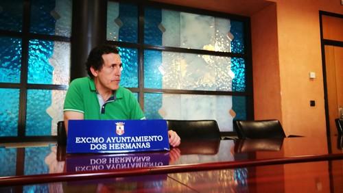 Juan Antonio Vilches, rueda de prensa junta de gobierno