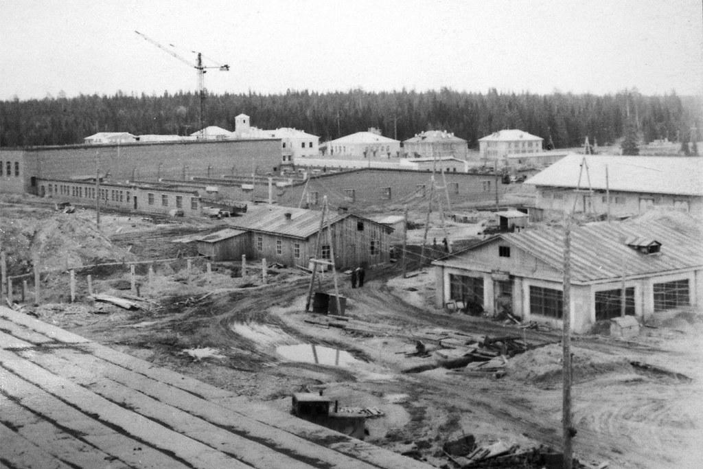 1 Панорама строительства ДСК в конце 1950-х гг.