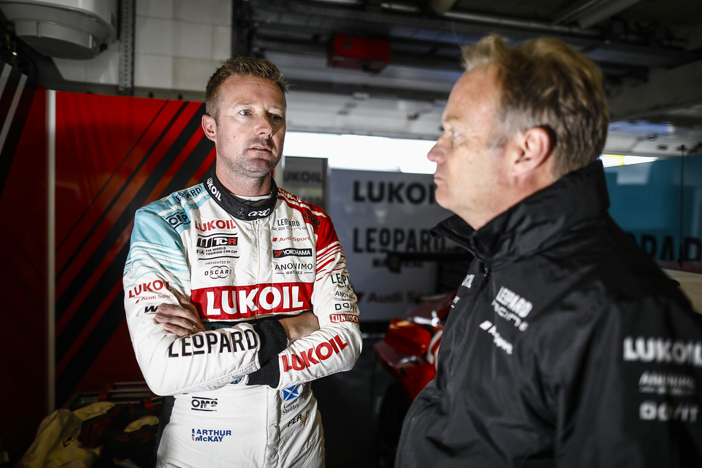 SHEDDEN Gordon, (gbr), Audi RS3 LMS TCR team Audi Sport Leopard Lukoil, portrait during the 2018 FIA WTCR World Touring Car cup of Zandvoort, Netherlands from May 19 to 21 - Photo Francois Flamand / DPPI