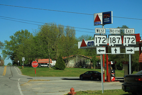 AL187 Norh - AL172 East West Signs - Hodges