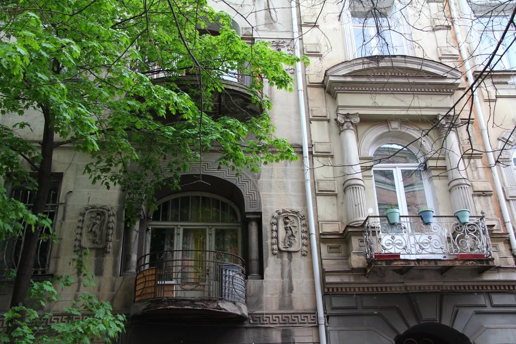 Сололаки - самый живописный район Тбилиси