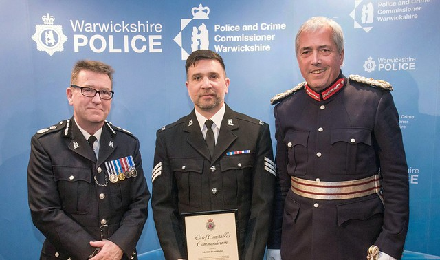 Warwickshire Police Chief Constable's awards evening