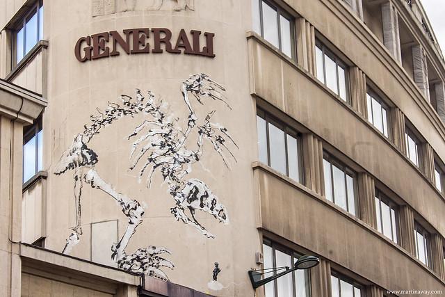 Street art by Bonom