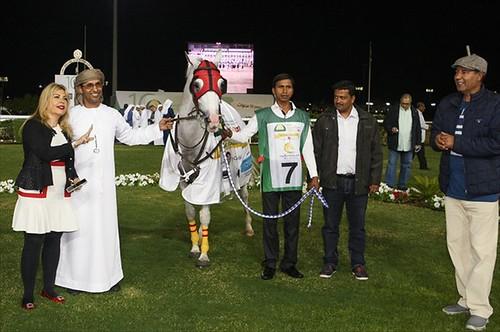 Familia Real de Abu Dhabi en el hipódromo de Dos Hermanas previa