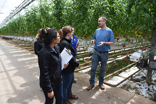 Fri, 04/27/2018 - 13:15 - Photo from last week's Agri-Business Academy Tour at the Intergrow Greenhouses on Oak Orchard Road in Albion