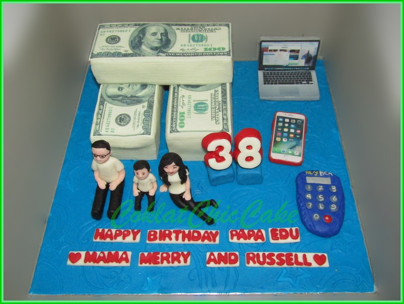 Cake Money PAPA EDU 15 cm