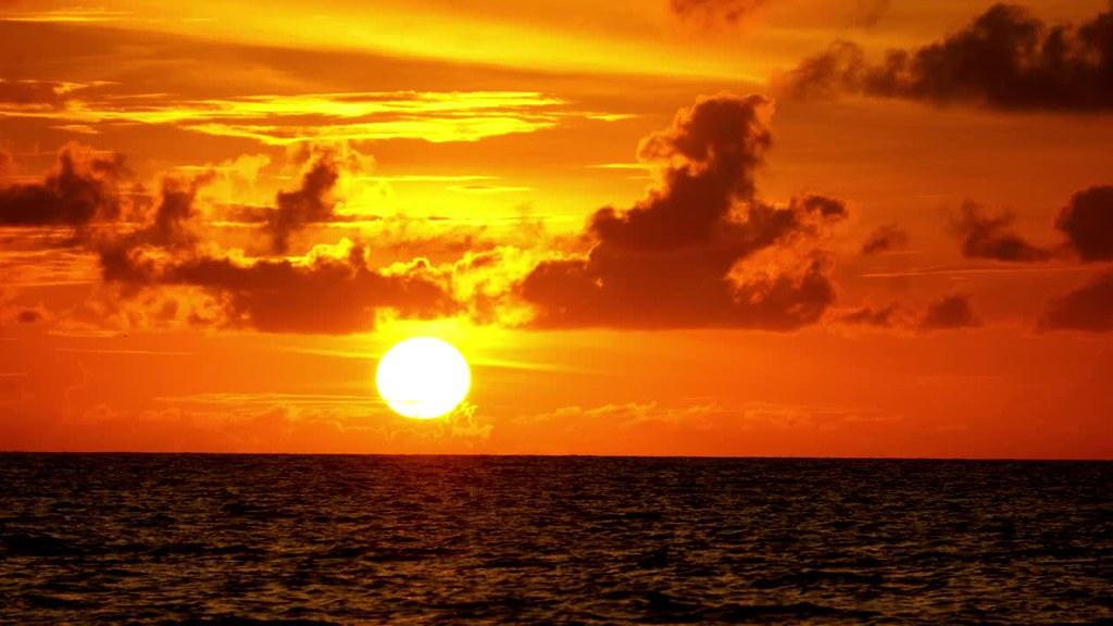 Sunset at Ngurbloat Beach, Kei, Maluku