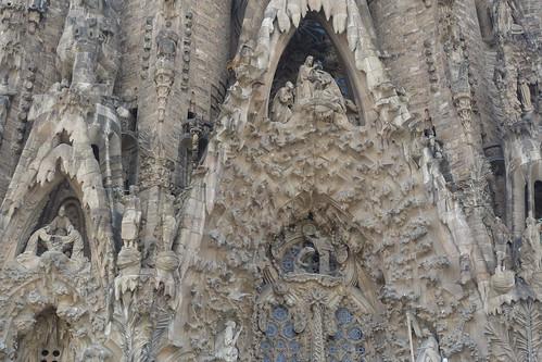 La Sagrada Familia, details