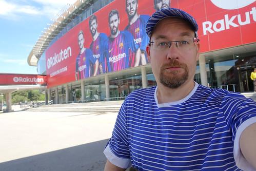 Camp Nou -selfie