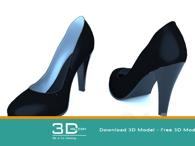 97  Shoes 3dmodel Free Download - 3D Mili - Download 3D
