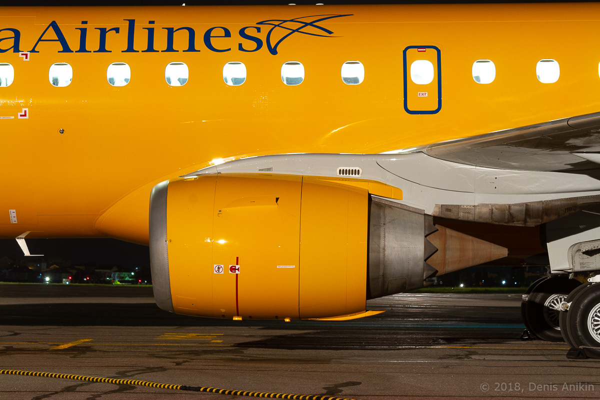 Embraer Саратовские Авиалинии Ivolga Airlines фото 4