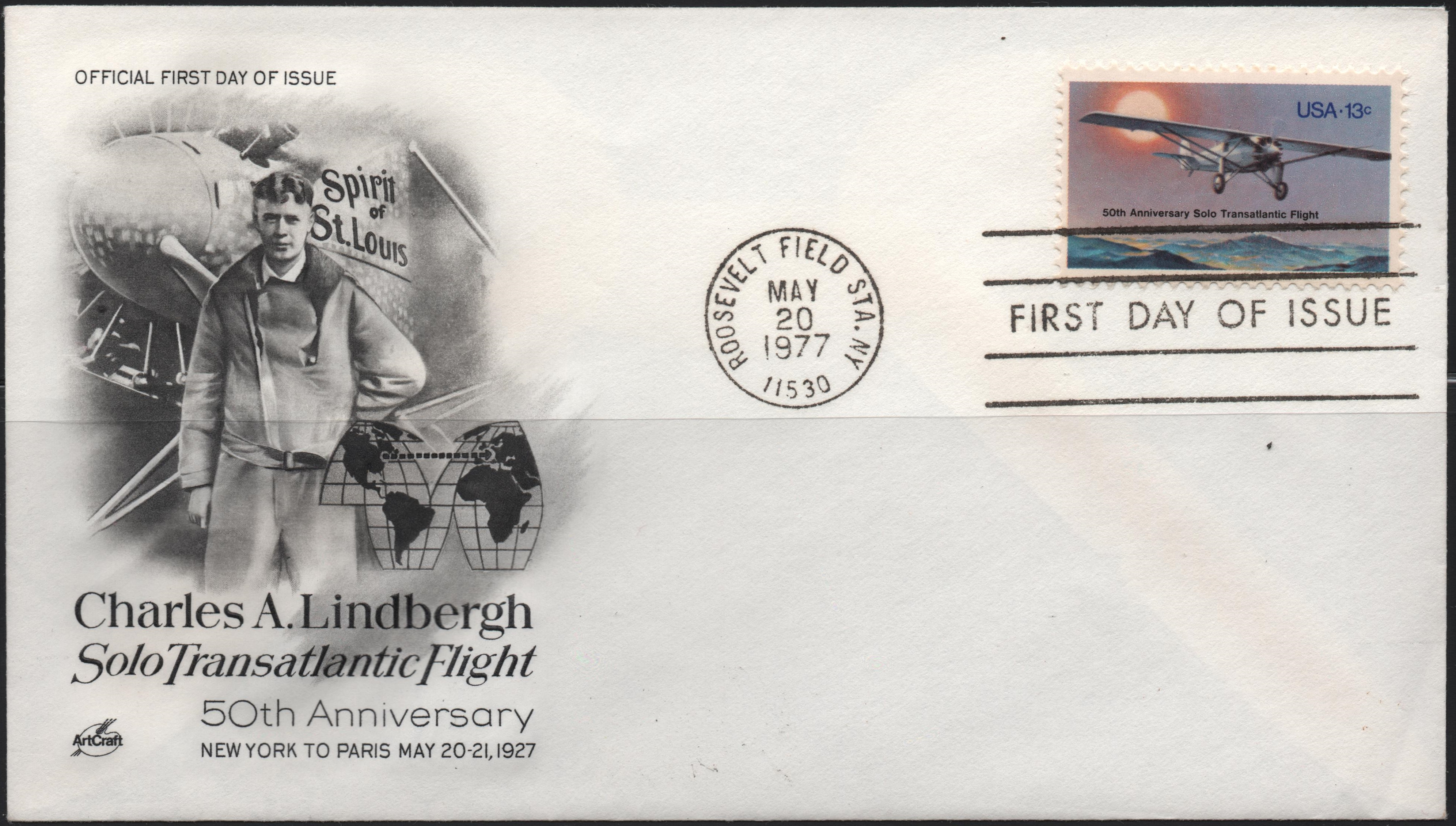 United States - Scott #1710 (1977) fist day cover, ArtCraft cachet