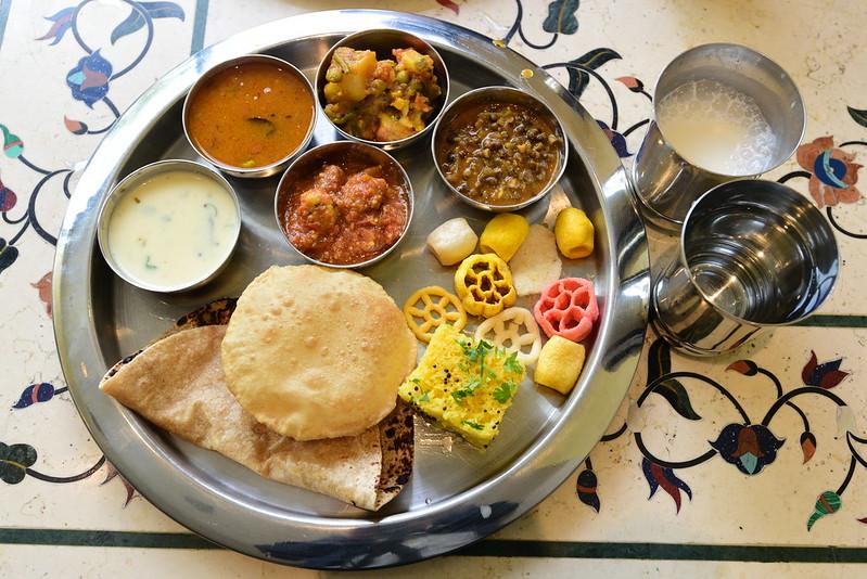 Rajdhani Thali Restaurant- Artesia, CA: Thali