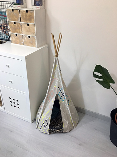 09 diy tipi indio pets decoration