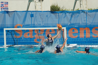 Women's water polo game, 2014